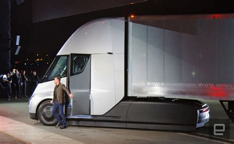 teslas semi truck  traveling cross country
