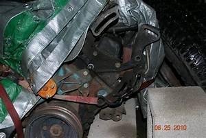 Power Steering Pump   Rear Bolt   Confused
