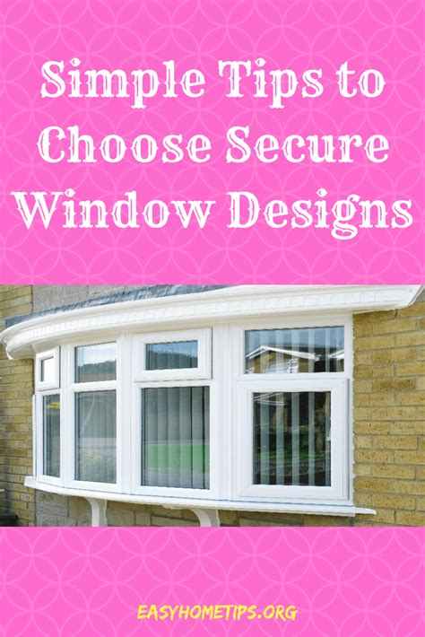 popular secure window designs
