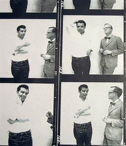 Perry Smith and Truman Capote, standing side by side. It ...