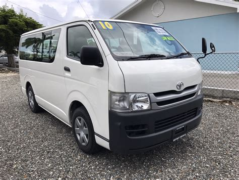 Not usually one to raise a pulse. Toyota Hiace Van | Distinct Imports Ltd.