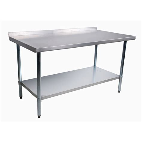 Fish Cleaning Table With Sink by Atlantic Metalworks Stt 2448 2bs 24x48 Economy Stainless