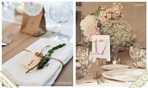 Nom De Table Mariage Champetre : decoration mariage champetre recherche google feestje pinterest mariage inspiration and ~ Melissatoandfro.com Idées de Décoration