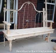 The Thing About Turning A Metal Headboard Into A Bench Isn T So Much Wrought Iron And Brass Boudoir Bench At 1stdibs Wrought Iron Bench Wrought Iron Bench For Outside Wrought Iron Bench Ideas For Every Room