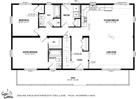 Derksen Portable Building Floor Plans by Derksen Cabin Floor Plans Studio Design Gallery