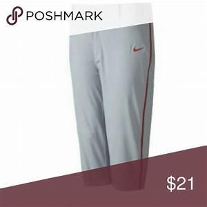 Nike Mens Swingman Knee High Dri Fit Piped Baseball Pants