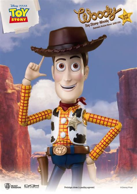 toy story dynamic ction heroes dah  woody px previews