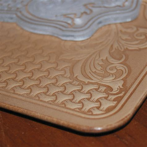 cool sheridan style leather embossing plate  stamping