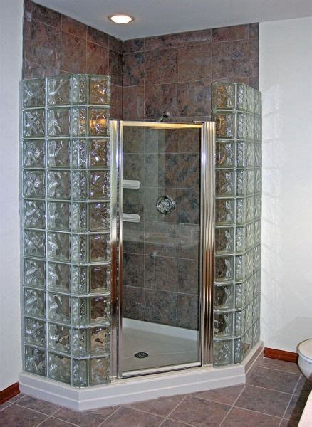 glass block shower designs best 25 glass block shower ideas on small