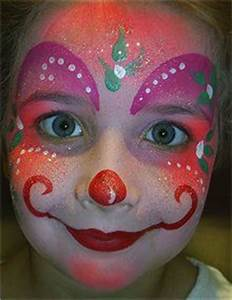 Image detail for Clown girl with purple hair