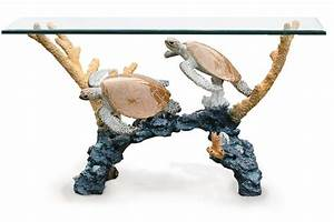 by wyland sculpture turtle table sea turtles With sea turtle coffee table
