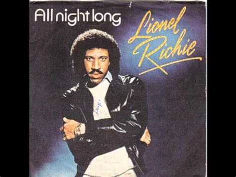 lionel richie  night long hq youtube
