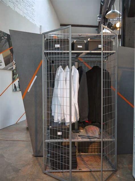 Metall Garderobe Ikea by Ikea Ps 2014 Industrial Silver Grey Metal Wardrobe Modern