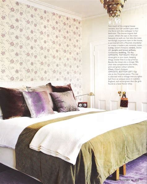 headboard wallpaper ideas   bedroom