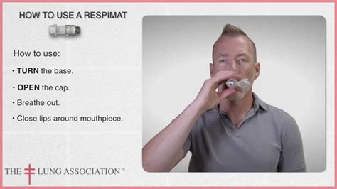 How To Use A Respimat Inhaler Youtube