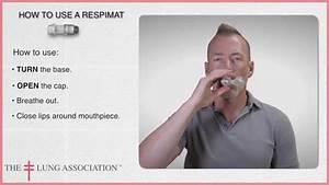 How To Use A Respimat Inhaler