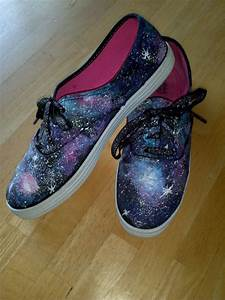 Galaxy Shoes Handpainted Sneakers