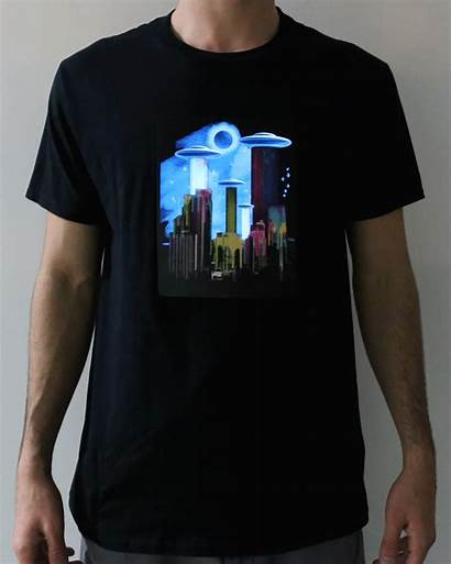 Shirt Led Clothing Clothes Shirts Electric Wearable