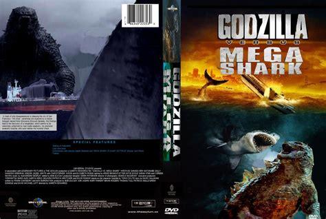 Godzilla Vs. Mega Shark Dvd Cover By Steveirwinfan96 On