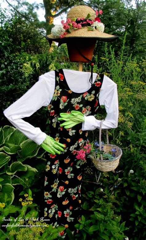 diy project wood scrap scarecrow my garden maiden our