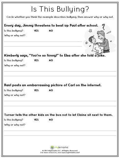 best 25 bullying worksheets ideas on pinterest anti