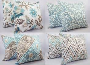 two pillow covers 20 x 20 inch blue and by castawaycovedecor