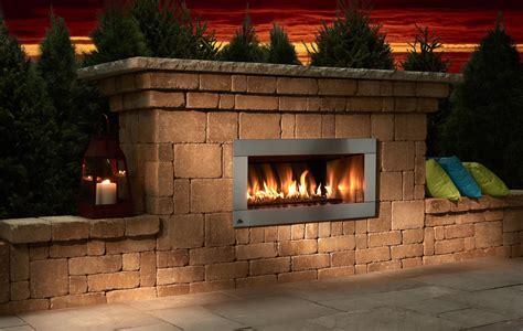 Small Outdoor Gas Fireplace Fireplace Design Ideas