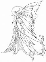 Coloring Pages Angel Adults Dark Detailed Popular sketch template