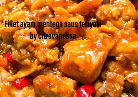 Siapkan wadah, lalu campur potongan ayam fillet bersama bahan. Resep Ayam Fillet Teriyaki