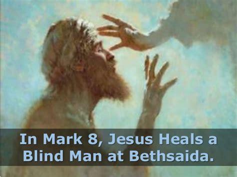 Jesus Heals A Blind Man « Bloor Lansdowne Christian Fellowship