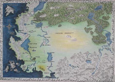 entranhas de alagaesia  mapa de alagaesia