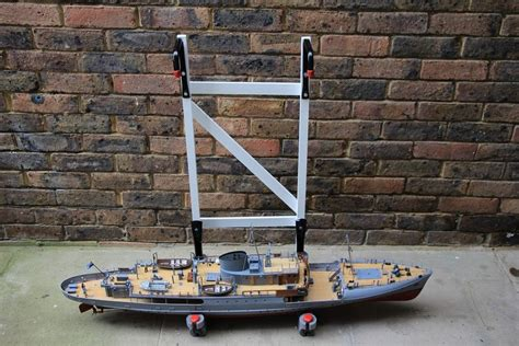 Model Boat Launching Cradle by Cheap And Cheerful Launching Cradle Model Boats