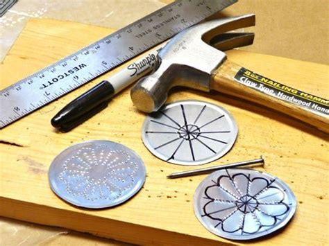 jewelry  decorations   tin  lids