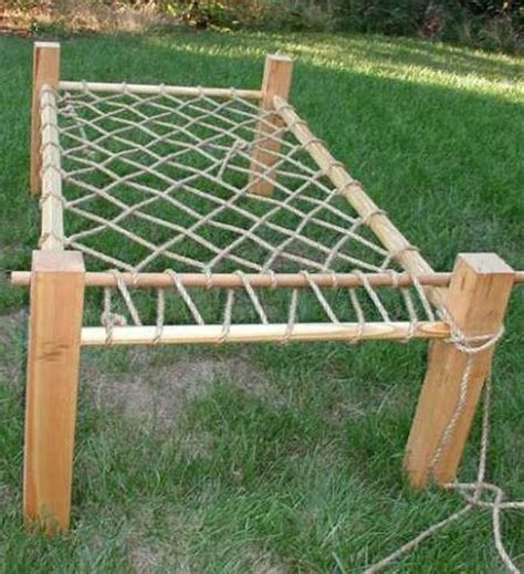 diy rope chairs rope bed frame instructions diy