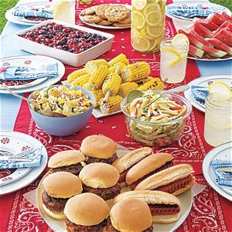 cook out ideas labor day party ideas pauleenanne design