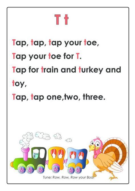 abc songs letter t kinder songs abc songs preschool 905 | e0494eea6b3724cd3e0715baca2b5261 preschool poems alphabet activities