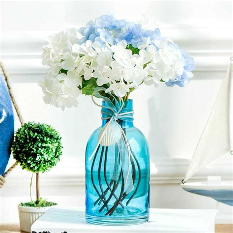 Flowers In Small Vases by Small Flower Vases Blue Glass Vases Wholesale