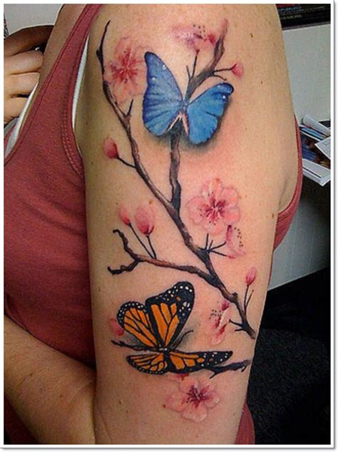gorgeous butterfly tattoos  beauty   significance