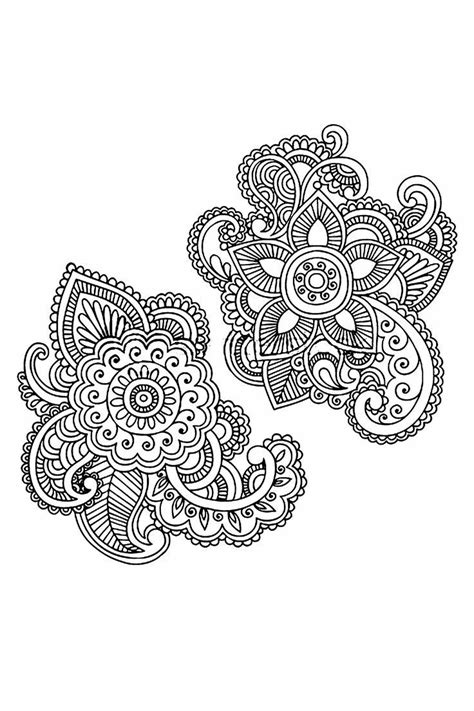 Pin by Nori🌹 on H E N N A | Paisley doodle, Flower henna, Henna doodle