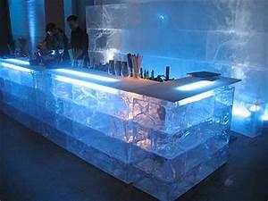 berlineis de acryleis, Eisbar Verleih, Dekoration, show, event