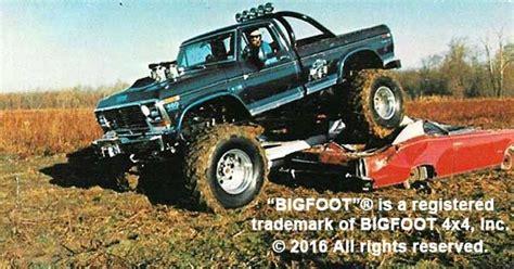 1979 bigfoot monster truck firsts bigfoot 4 4 inc monster truck racing team