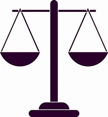 Scales Justice Scale Clipart Silhouette Vector Balance