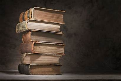 Books Background Stack Knowledge Table Luxury Close