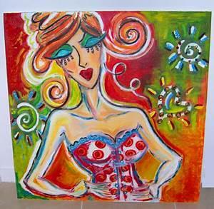 Tableau Peinture Sur Toile : peinture tableau sur toile 10 ~ Teatrodelosmanantiales.com Idées de Décoration