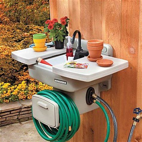 outdoor kitchen sink plumbing outdoor garden sink improvements patio 3869