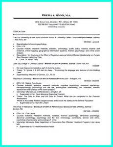 criminal justice internship resume sle criminal justice resume uses summary section of the qualifications to highlight your experience