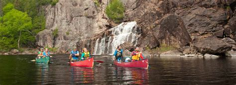 Canoes In Ontario by Canoeing In Algoma Northern Ontario