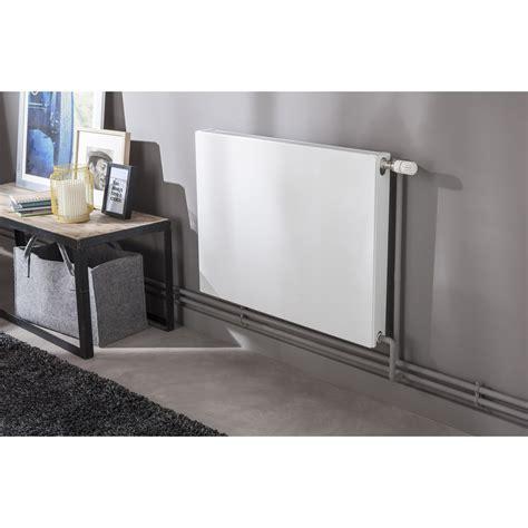 radiateur chauffage central radiateur chauffage central colima blanc l 80 cm 954 w leroy merlin