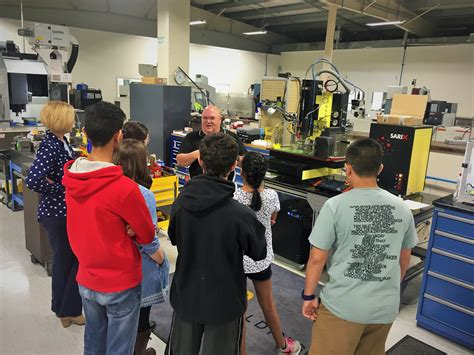 Steam Students Visit Mtd Mtd Micro Molding