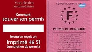 Annulation Permis De Conduire : droits automobilistes sauver son permis quand on re oit un imprim 48 si annulation de permis ~ Medecine-chirurgie-esthetiques.com Avis de Voitures